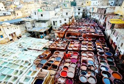 Blogthumb bij 1001 nachten in Fez