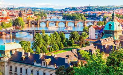 Foto historisch Praag bij citytrips
