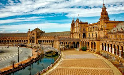 Foto verrassend Sevilla bij citytrips