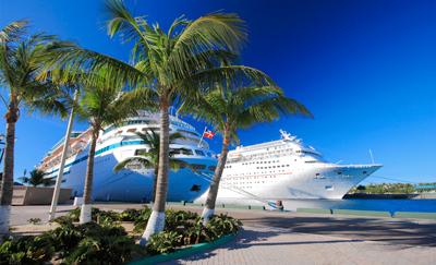 Foto zonnige BAHAMA'S bij Cruise