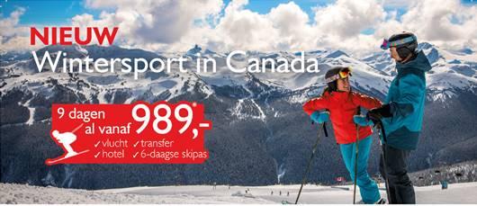 Foto bij Wintersport in Canada