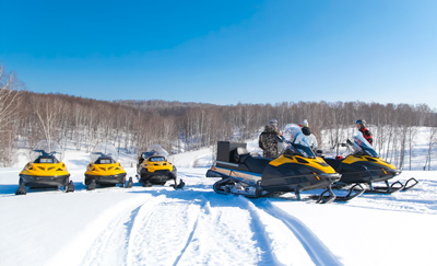 Sfeerbeeld Lapland op skivakantie