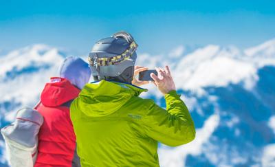 Sfeerbeeld Tsjechië op skivakantie