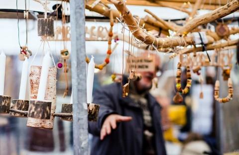 Zelfgemaakte Markt in Utrecht