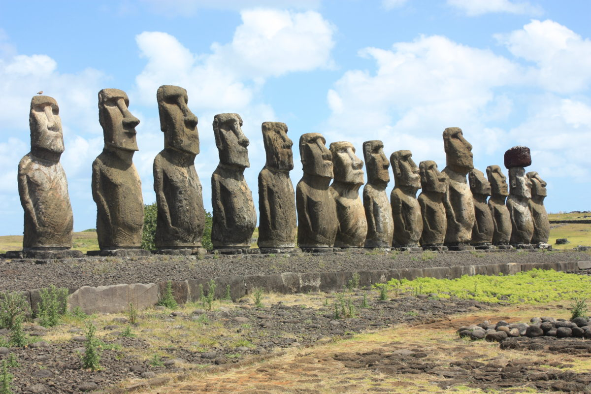 Foto Easter Island, Ahu Tongariki