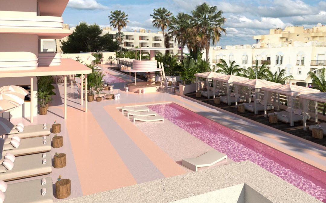Miami Vice in flamingo roze
