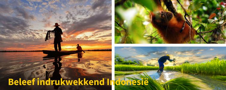 Beleef indrukwekkend Indonesie