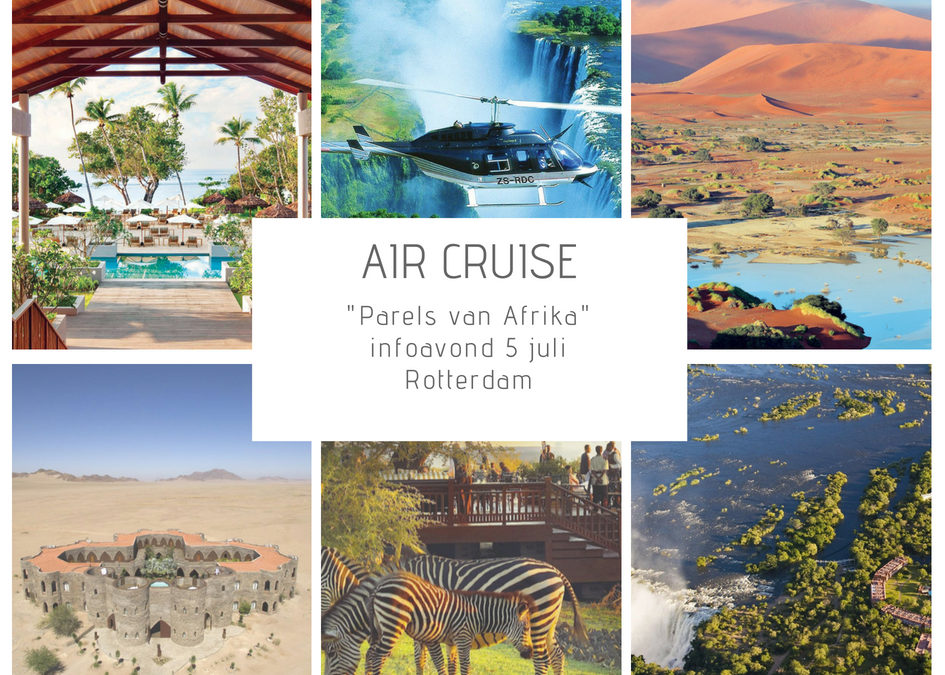 """Air Cruise """"Parels van Afrika"""", 1 continent, 8 landen"""
