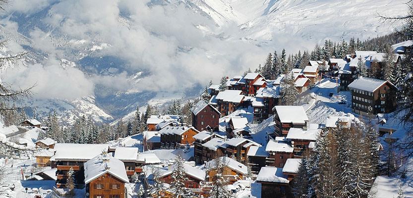 La Plagne, aaneengeschakelde dorpjes