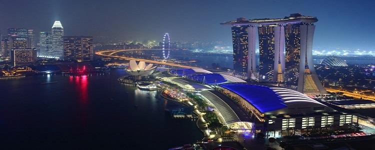 De toegangspoort tot Azië is Singapore