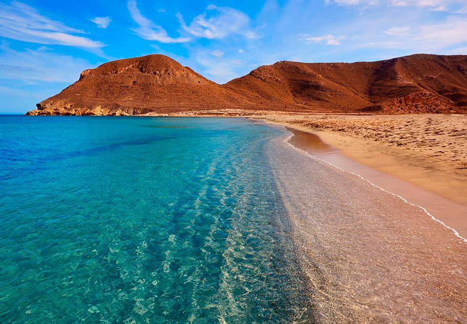 Uitgestrekt Andalusië